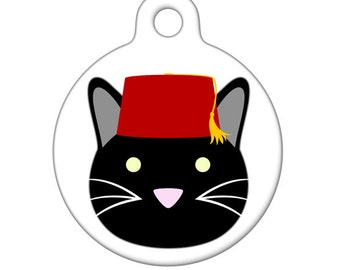 Cat fez | Etsy Fezzes Are Cool Cat