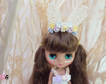 Middie Blythe  Flowers Headband