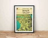 Go-Betweens Streets Of Your Town inspired Art Print