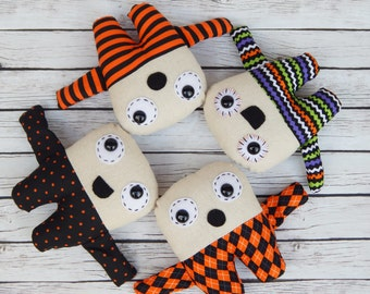 Halloween Plush Doll Mini Creepies