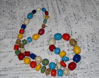 Bold Beautiful Beaded Necklace
