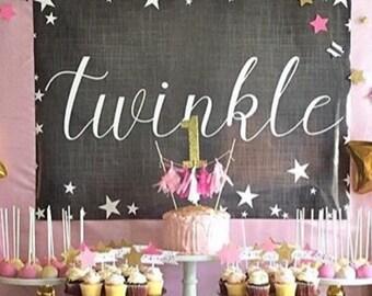 Twinkle Backdrop by Beth Kruse Custom Creations