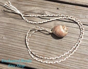Limited ~ She's A Beach Bum Shell Necklace