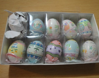 Decorated Easter Egg Ornaments