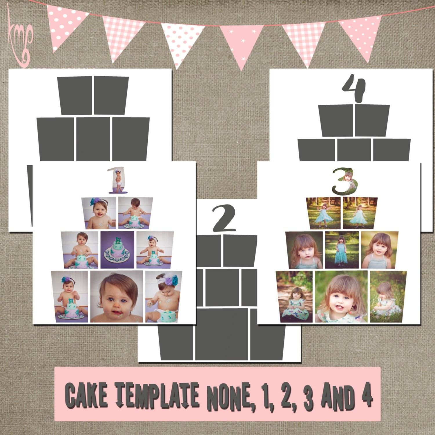 cake cakesmash template cake smash collage storyboard square. Black Bedroom Furniture Sets. Home Design Ideas