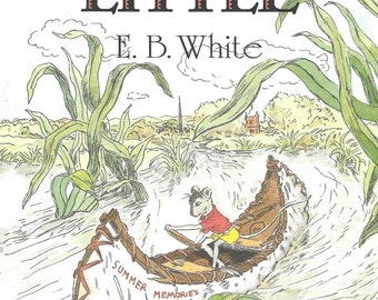 Vintage Children's Illustrated Book - Stuart Little - E.B. White