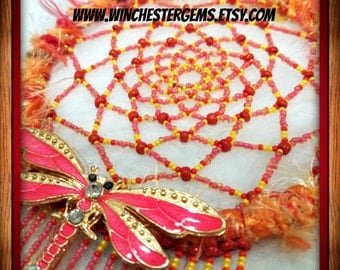 Beaded Dream Catcher