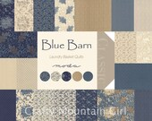 Blue Barn Charm Pack by Laundry Basket Quilts for Moda Fabrics