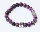 Sugilite Gemstone Stretch Bracelet