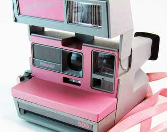 Rare Vintage Polaroid Pink Cool Cam Instant Camera