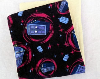 TARDIS Doctor Who Baby Burp Cloth
