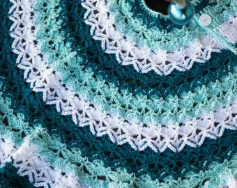Crochet Pattern, Beautifully Textured Christmas Tree Skirt