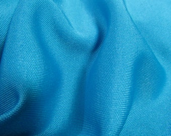 "Vintage Blue Polyester Nylon Spandex Swimsuit Activewear Fabric 66"" W - PRICE PER Yard, Polyester fabric, Spandex fabric, swimsuit fabric"