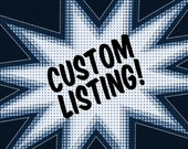 Custom listing for Brianna