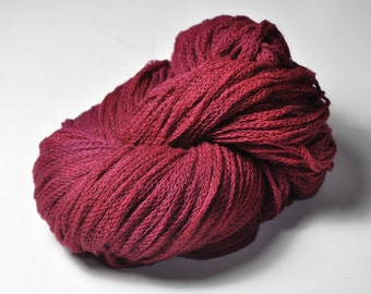 Overripe raspberry OOAK - Merino/Alpaca/Yak DK Yarn - Winter Edition