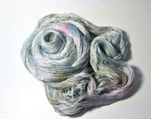 Pure Silk  MERIDIAN  in Crystal - One of a Kind
