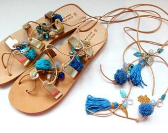 HALF PRICE! Boho sandals/Ready to ship!
