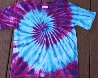 Tie dye tee shirt youth size XS