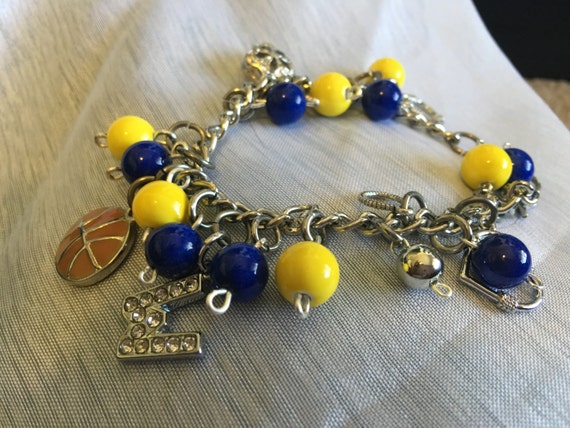 golden state warriors charm bracelet warrior bracelet