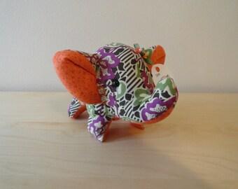 Tiny Stuffed Elephant- Dana