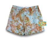 Tie Dye Sleepwear, Cotton Sleepwear, Tie Dye Pajama Short, Colorful Pajama Short, Cotton Tie Dye Shorts