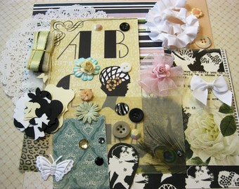 Webster's Pages Hollywood Vogue Embellishment Kit, Inspiration Kit, Ephemera Kit for Scrapbook Layouts Cards Mini Albums and Paper crafts 2