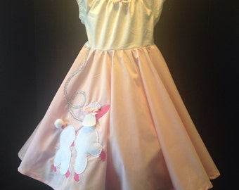 Girls Boutique Peasant Poodle Skirt Dress