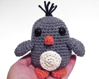 Crochet Penguin Pattern, Baby Penguin Crochet, Pattern, Penguin Gift, Christmas Gift, Baby  Gift, Infant Toy, Penguin Toy Pattern, Crochet