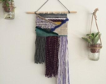 Weaving   Purple Criss Cross