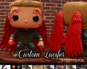 Lucifer - Supernatural Custom Funko pop toy