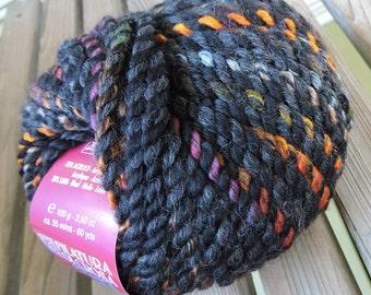 SUPER BULKY Weight Yarn - Night Sky (#07) - Acrylic Wool Blend - Filatura Di Crosa - 100 g / 60 yards