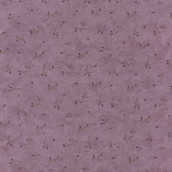 Moda Fabric The Potting Shed Holly Taylor 1 2 Yard Phlox