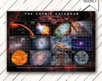 Cosmic Calendar 2016 - Cosmos Calendar