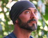 Men's Mauka Hat - Beanie  Hat - Summer Hat - Organic Clothing  - Gray - Eco Friendly