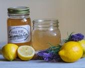 Lavender Lemonade - Herbal Tea - Gifts for Her - Stocking Stuffer - Herbs - Teacher Gift - Simple Syrup - Lavender - Martini - Vodka Gift