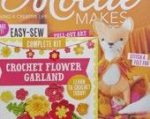 Mollie Makes, Handmade Crafts, MollieMakes Issue 70, Crochet Flower Garden Kit, New Mollie Makes Magazine