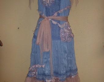 "20%OFF bohemian gypsy wedding bridesmaid boho lagenlook dress  medium to 40"" bust..."