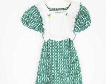 vintage 70s bohemian floral ruffled shirt