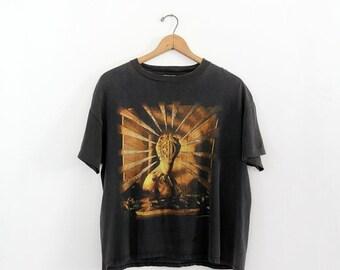 SALE 1992 Emerson Lake & Palmer t-shirt,  vintage ELP World Tour tee