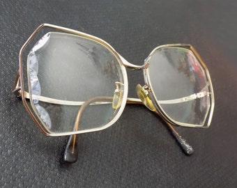 1980s Glasses / Glam / Rare / 80s / Dallas / Disco/ Eyewear
