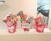 Personalized Valentines 5 Qt. Tin Bucket