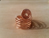 NEW LISTING - Wire Wrapped Ring in Copper