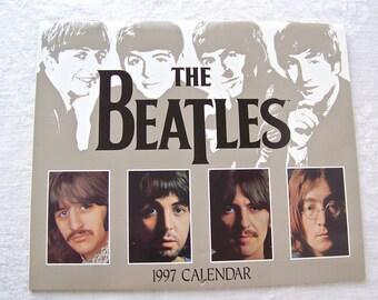 Vintage Beatles Calendar Beatles Memorabilia 1997 Apple Corps Fab Four John Paul George and Ringo Beatles Keepsake
