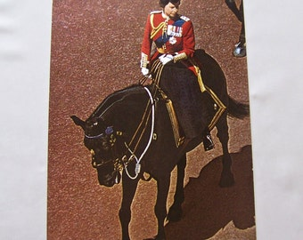 Vintage Postcard Her Majesty The Queen Of England On Her Famous Horse Winston British Royalty Queen Elizabeth II Photo Post Card Unused