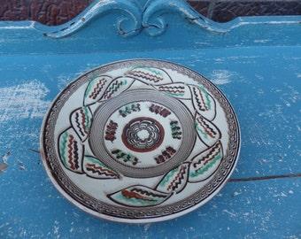 Rustic European Romanian Pottery Bowl