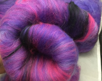 TRULY OUTRAGEOUS Spinning Fiber Art Batts