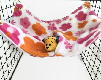 Flowers #7 rat hammock, rat bed