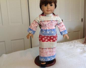 "18"" American Girl Style Doll Dress, hippie dress"
