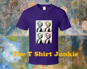 Marilyn Monroe Warhol Inspired T-Shirt