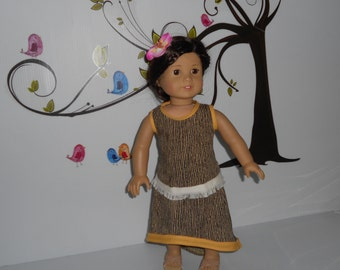 Doll clothes skirt blouse fits 18 in dolls like American Girl handmade